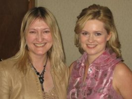 Victoria Connelly and Cecelia Ahern