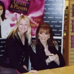 With Jackie Collins