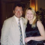 With Alan Titchmarsh at The Savoy