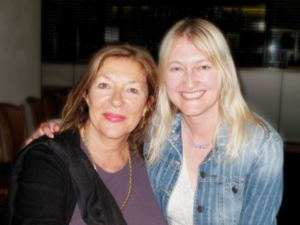 Carol Drinkwater and Victoria Connelly
