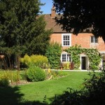 Chawton Cottage. Jane Austen's home in Hampshire – now a beautiful museum.