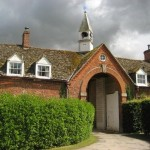 Kingston Bagpuize. This lovely stable block inspired Dan Harcourt's home.