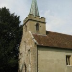 St Nicholas Church Steventon. Birthplace and home of Jane Austen for 25 years.
