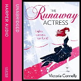 The Runaway Actress by Victoria Connelly - Audiobookaudio cover 160