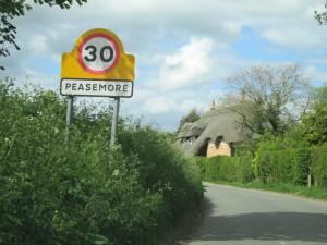 Approaching Peasemore
