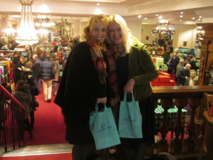 Victoria and Ruth at Fortnums 2